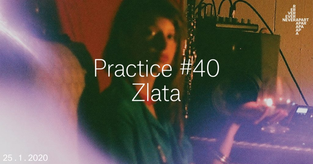 photo of sound artist zlata
